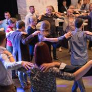 Tanzeinlage auf der PRAXISFELD-Jubiläumsfeier