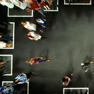 Ausschnitt aus dem Video des Dänischen TV-Senders