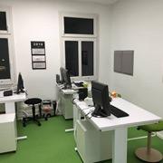 Innenansicht Büro PRAXISFELD in Remscheid