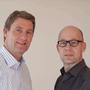 Stefan Palsbröcker und Holger Schlichting, das Team der Unternehmersprechstunde