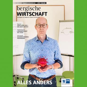 Titelblatt Bergische Wirtschaft von April 2020