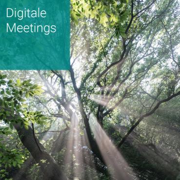 Digitale Meetings und Besprechungen gemeinsam gestalten und durchführen
