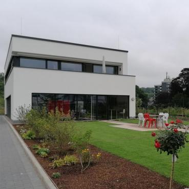Das PRAXISFELD Bürogebäude von außen