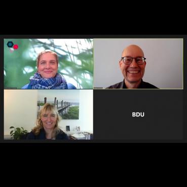 Der neue Vorstand des Fachverbandes Change Management des BDU mit Holger Schlichting