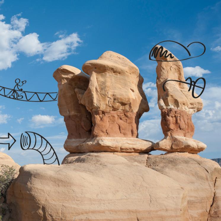 Übersicht über die Angebote zu Design Thinking für Unternehmen